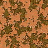 a large background image of rusting and peeling metal surface poster