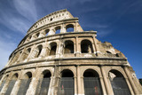 collosseum colosseum rome italy historic famous site poster