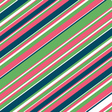 Blue, Green, Pink Diagonal Lines