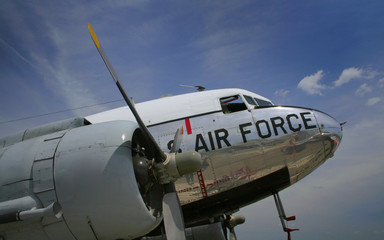 Old Us Airforce Flight