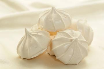 Stack of meringues