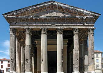 Temple romain (Vienne)