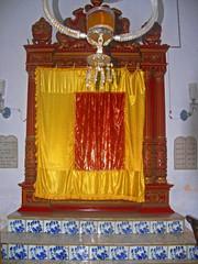 COCHIN Jewish SYNAGOGUE, constructed in 1568. Kochi, Kerla