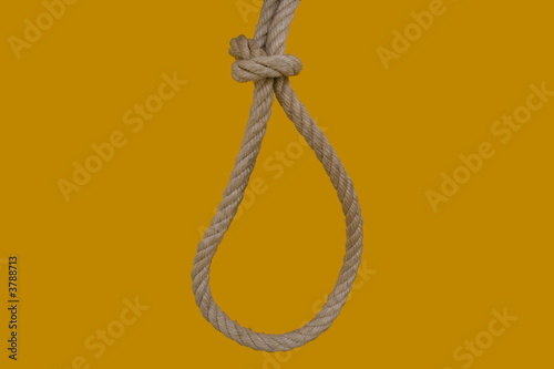 rope for hanging a bad man