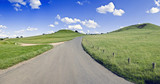 road  warwickshire countryside  the burton dassett hills  poster