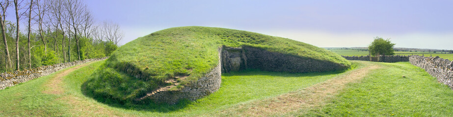 belas knap neolithic long barrow chambered tomb