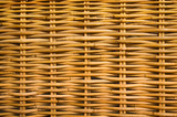 Detail of the pattern in rattan furniture poster