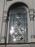 Window of ancient cathedral 2