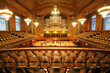 old auditorium, gold and velvet decoration - 3801158