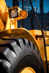 Bulldozer Cab, Lights and Wheel detail