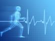 anatomie eines laufenden menschen