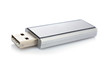 Portable flash usb drive memory. Shallow DOF