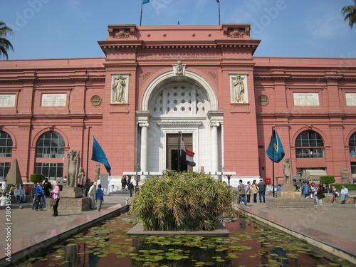 Leinwanddruck Bild le musée égyptien