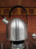 Stainless kettle poster
