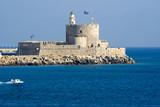 St. Nicholas Fortress, Rhodes, Rhodes, Greece poster