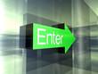 Enter - Hier entlang