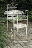 Metal garden furniture poster
