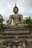 Buddha in Old City,Sukhothai,Thailand poster
