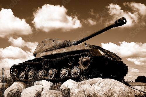 The military equipment.