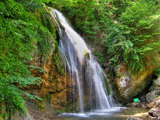 Waterfalls. Crimea.