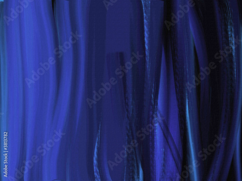 poster of Oil Painted Canvas Background with light blue