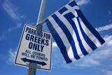 Parking at the Greek cultural festival (Jock, Humor) poster