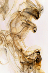smoke rising