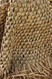 straw woven mat poster