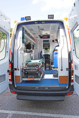 ambulance back