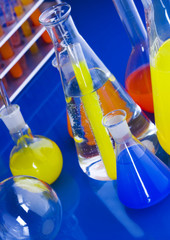 Colorful laboratory