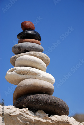 Steinturm Himmel