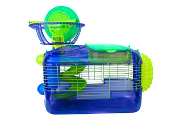 a cage for holding hampsters and other small rodents