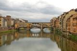 The Ponte Vecchio Bridge in Florence, Italy. poster