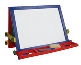 outlined, art easel empty poster