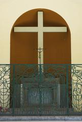 Church Cross in Corte on Corsica
