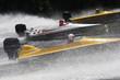 Speed boats in a race