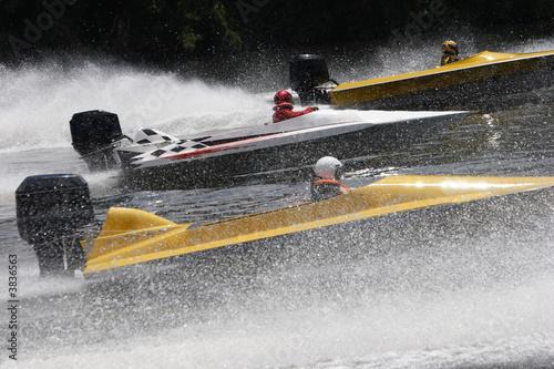 Speed boats in a race - 3836563