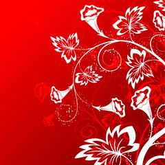 Flower background, element for design, vector illustration