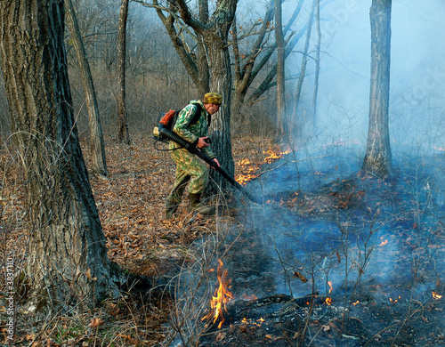 Suppression of Forest Fire 3