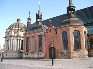 An image of a church in the swedish capital of stockholm