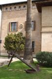 ancre devant le musée naval de Palma aux Baléares poster