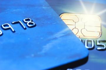 Credit cards (shallow DoF)