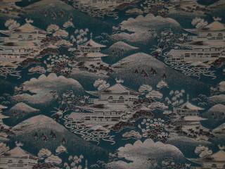 Japanese kimono silk pattern