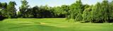 Fototapety Panorama di campo da golf