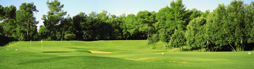 Panorama di campo da golf