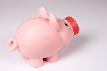 Piggy bank. Easy to cut.