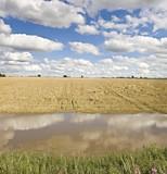 floods river avon stratford-upon-avon warwickshire  poster