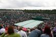Leinwandbild Motiv Tennis Court - Centre/Wimbledon2007