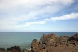 Volcanic Lava Shore of Kona Island, Hawaii poster
