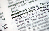 "A macro shot of the word ""Imagination"" from the dictionary"